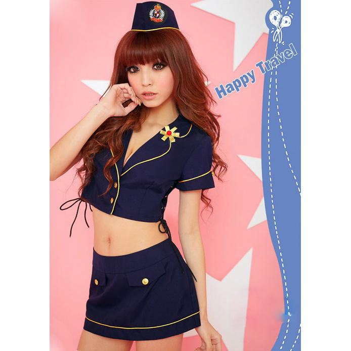 Sweet Stewardess Costume N8192