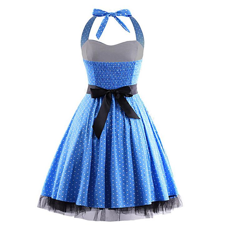 Retro Dresses for Women, Vintage Dresses for Women, Sexy Dresses for Women Cocktail Party, Casual Mini dress, Polka Dot Swing Daily Dress, #N14846