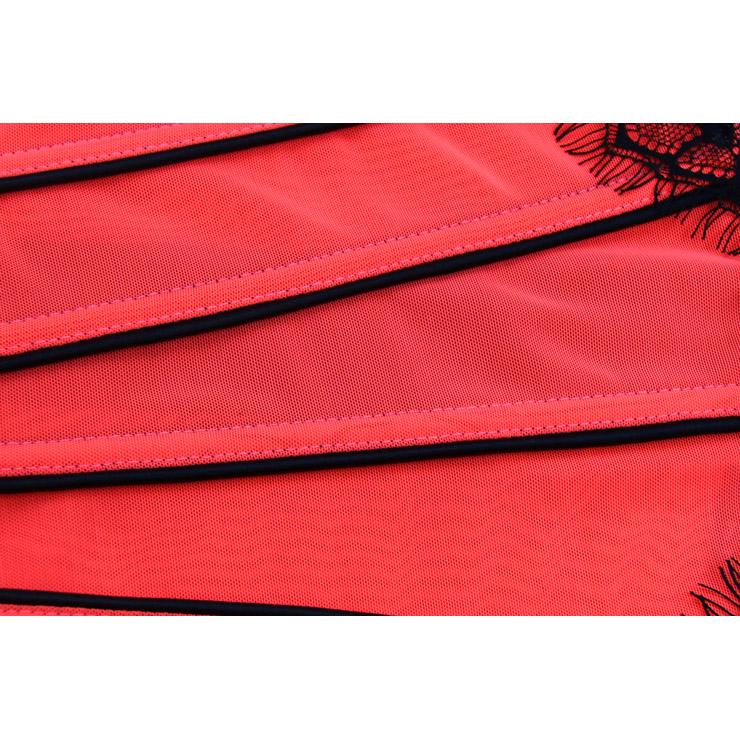 Fashion Body Shaper, Red Corset for Women, Waist Cincher Corset Fashion, Sweetheart Corset Bustier Top, #N11311