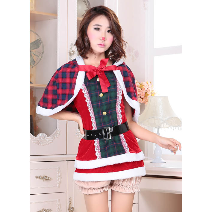 Have thought sexy red plaid women girls hot