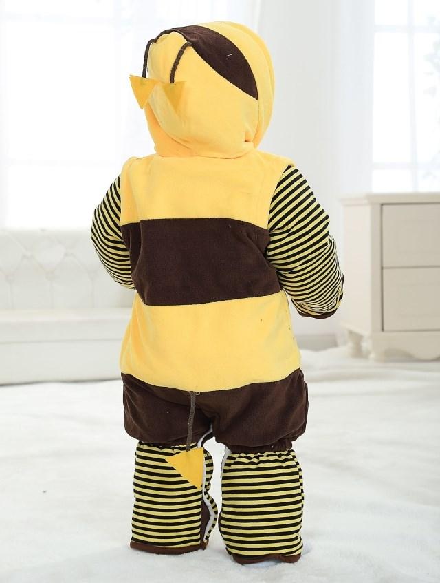 Bee Jumpsuit Romper Baby, Halloween Bee Costume Baby, Little Bee Climbing Clothes baby, #N6292