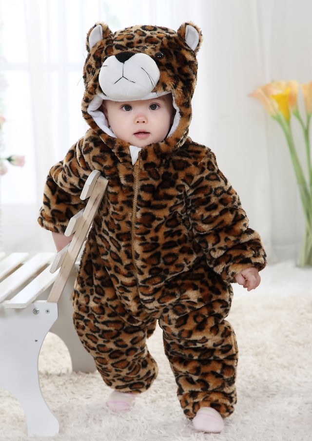 8542803cd60e Leopard Romper Jumpsuit Baby Halloween Leopard Costume Baby Pecuniary  Leopard Climbing Clothes Baby Sc 1 St MallTop1.com