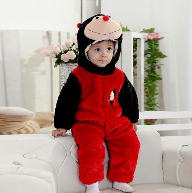 Ladybug Romper Jumpsuit Baby, Halloween Rabbit Costume Baby, Baby Rabbit Climbing Clothes, #N6294