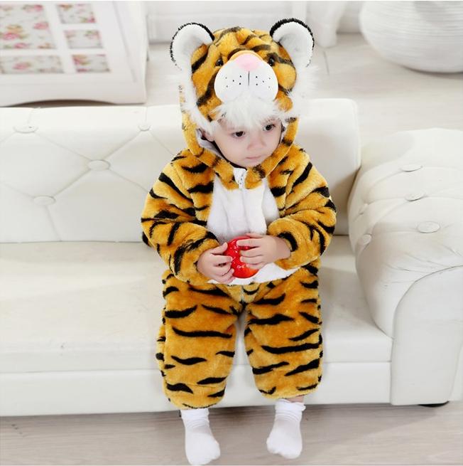 Tiger Climbing Clothes Romper N6264
