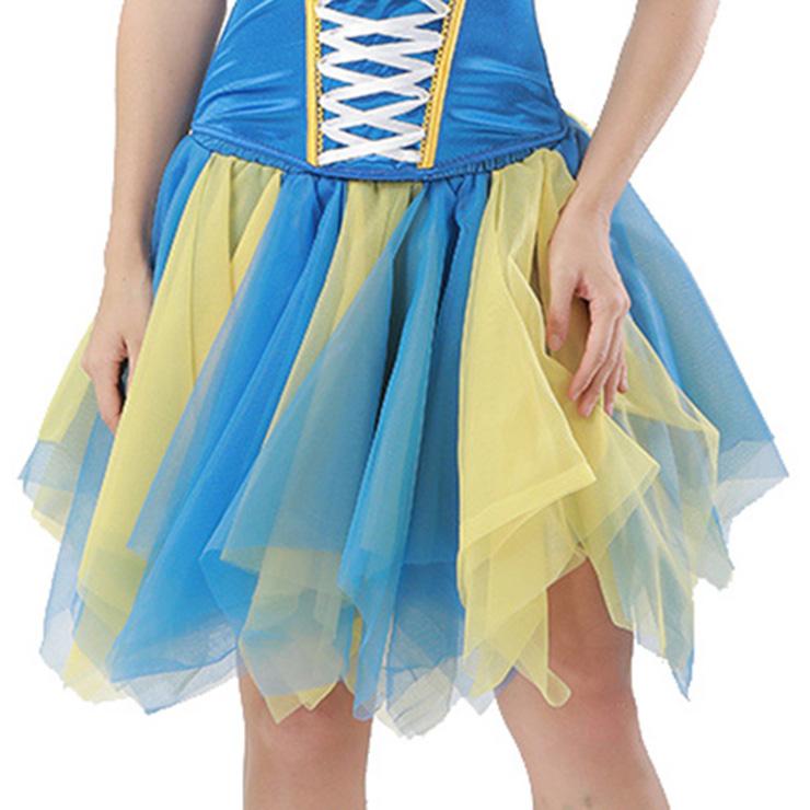 Women's Tutu Tulle Mini A-Line Layered Petticoat Zigzag Skirt HG15000