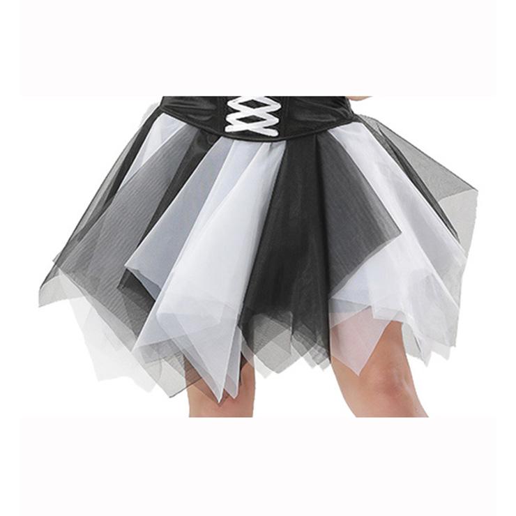 Women's Tutu Tulle Mini A-Line Layered Petticoat Zigzag Skirt HG15002