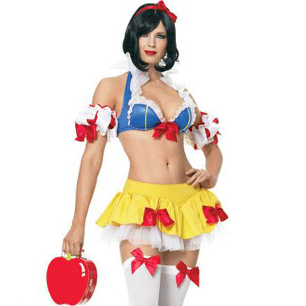 Ultra Sexy Snow White Costume M8448