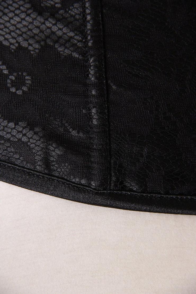 Waist Cincher Corset Body Shaper Girdle, Steel Bone Waist Training Corset,Plastic Boned Brocade Corset,Underbust Corset, Black Lace Underbust Corset, Lace Underbust Corset, #N4830