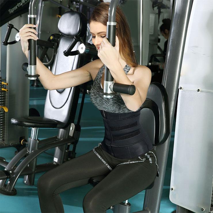 Waist Gym Trainer Corset, Waist Trainer Cincher Belt, Slimmer Body Shaper Belt, Cheap Sport Gym Waist Cincher Belt, Acrylic Bones Corset Belt, #N18671