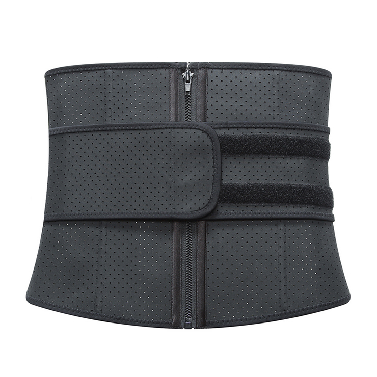 Waist Gym Trainer Corset, Waist Trainer Cincher Belt, Slimmer Body Shaper Belt, Cheap Sport Gym Waist Cincher Belt, Acrylic Bones Corset Belt, #N18672
