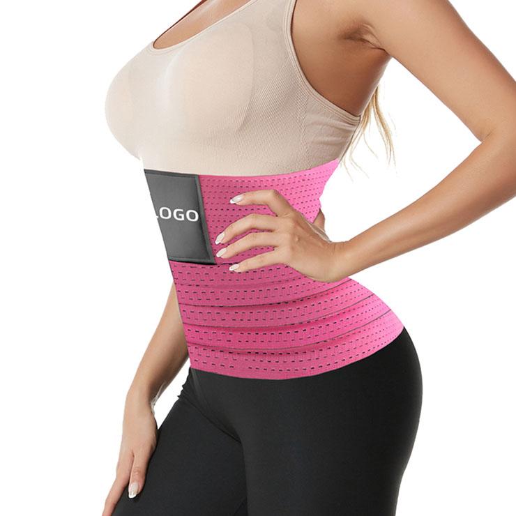 Elastic Waist Trimmer Girdle Belt, Gym Waist Trainer Corset, Waist Trainer Cincher Belt, Slimmer Body Shaper Belt, Cheap Sport Gym Waist Cincher Belt, Workout Enhancer Belt, Adjustable Sports Fitness Waist Belt, #N21471
