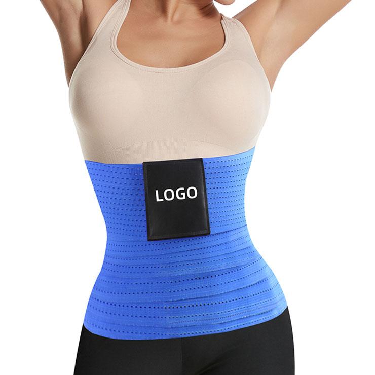 Elastic Waist Trimmer Girdle Belt, Gym Waist Trainer Corset, Waist Trainer Cincher Belt, Slimmer Body Shaper Belt, Cheap Sport Gym Waist Cincher Belt, Workout Enhancer Belt, Adjustable Sports Fitness Waist Belt, #N21472
