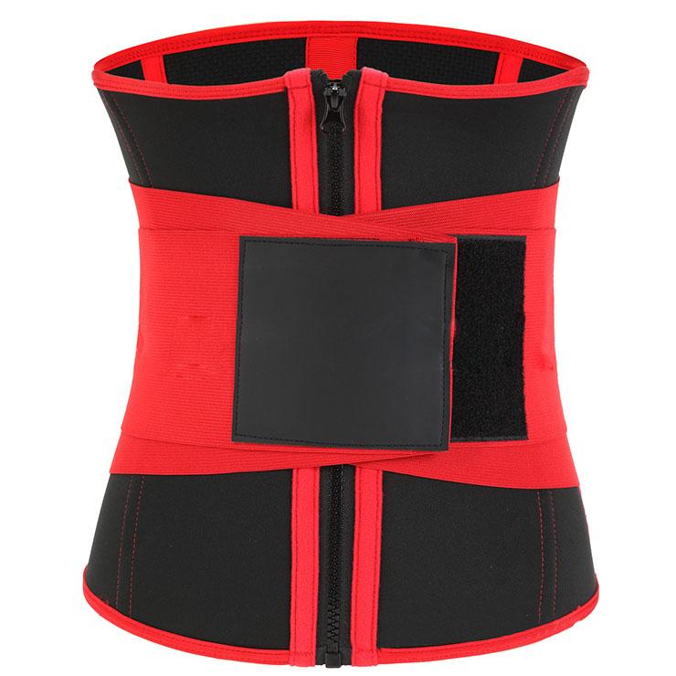 Waist Gym Trainer Corset, Waist Trainer Cincher Belt, Slimmer Body Shaper Belt, Cheap Sport Gym Waist Cincher Belt, Double Velcros Corset Belt, Neoprene Sports Waist Belt, #N20874
