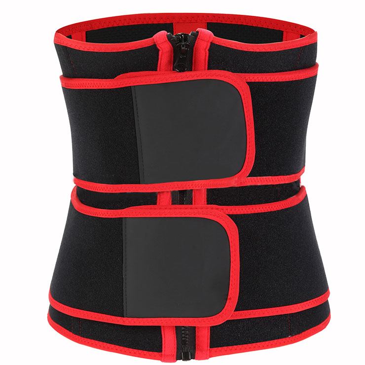 Waist Gym Trainer Corset, Waist Trainer Cincher Belt, Slimmer Body Shaper Belt, Cheap Sport Gym Waist Cincher Belt, Double Velcros Corset Belt, Neoprene Sports Waist Belt, #N20875