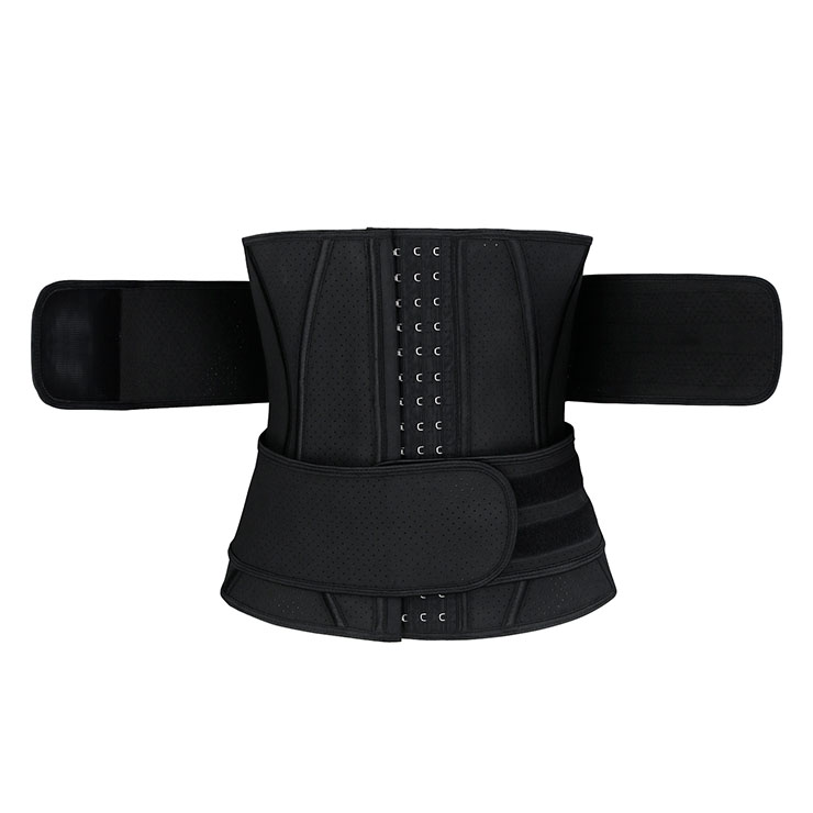 Waist Gym Trainer Corset, Waist Trainer Cincher Belt, Slimmer Body Shaper Belt, Cheap Sport Gym Waist Cincher Belt, Double Velcros Corset Belt,Latex Sports Waist Belt, #N20541