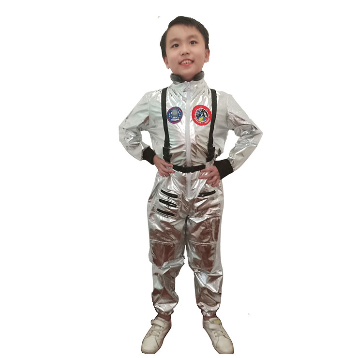 Children Space Costume, Hot Sale Space Suit Costume, Captain Role Play Costume, Halloween Cosplay Star  Wars Costume,Collective Party Costume,One-piece Kids Astronaut Space Suit, #N20491