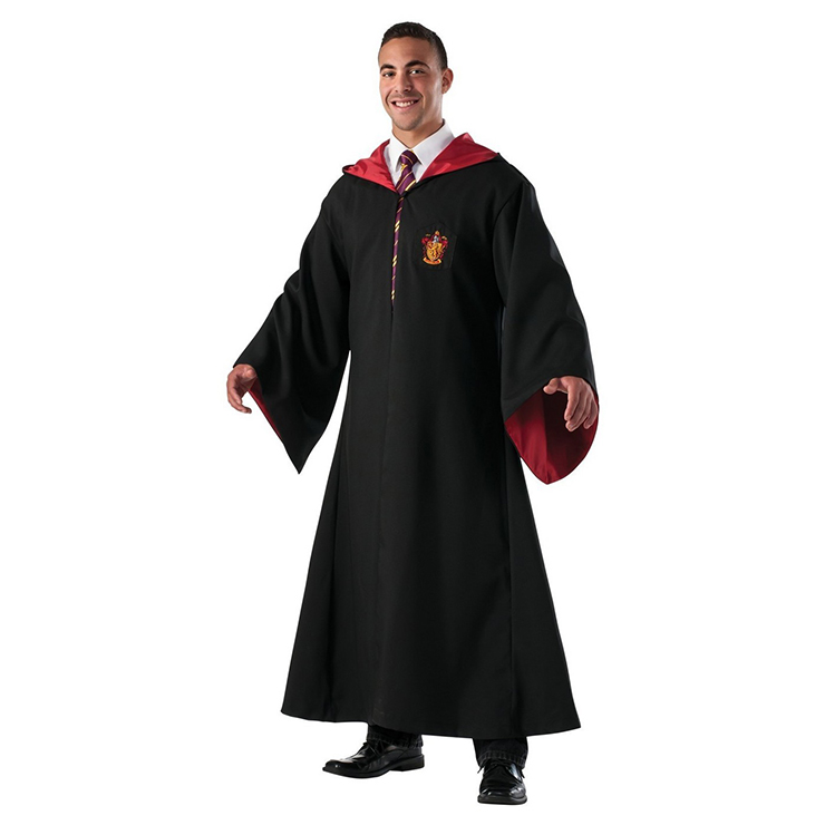 Unisex Wizard Magic Robe Halloween Adult Costume N18198