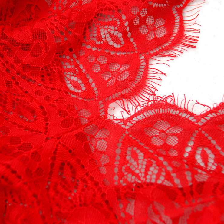 Spaghetti Strap Teddy Lingerie, Sexy Red Lace Teddy Lingerie, Cheap Fashion Bodysuit Lingerie, Valentine