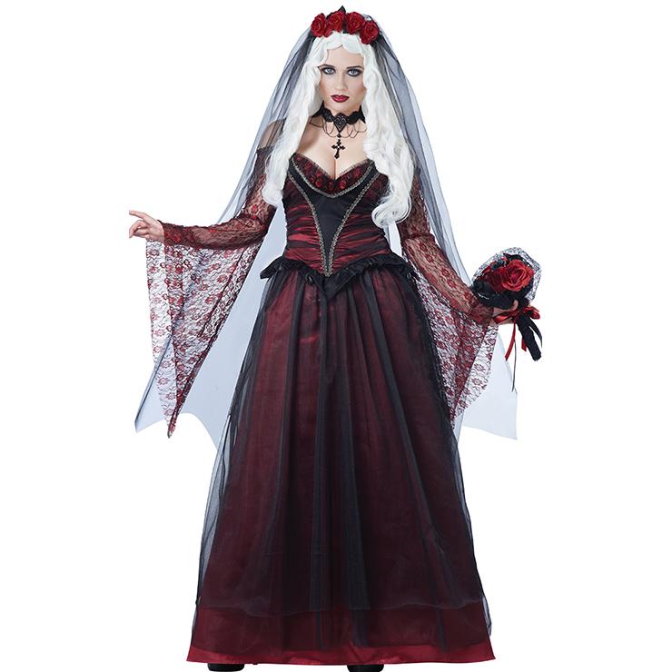Immortal Vampire Bride Woman Halloween Costume N11847