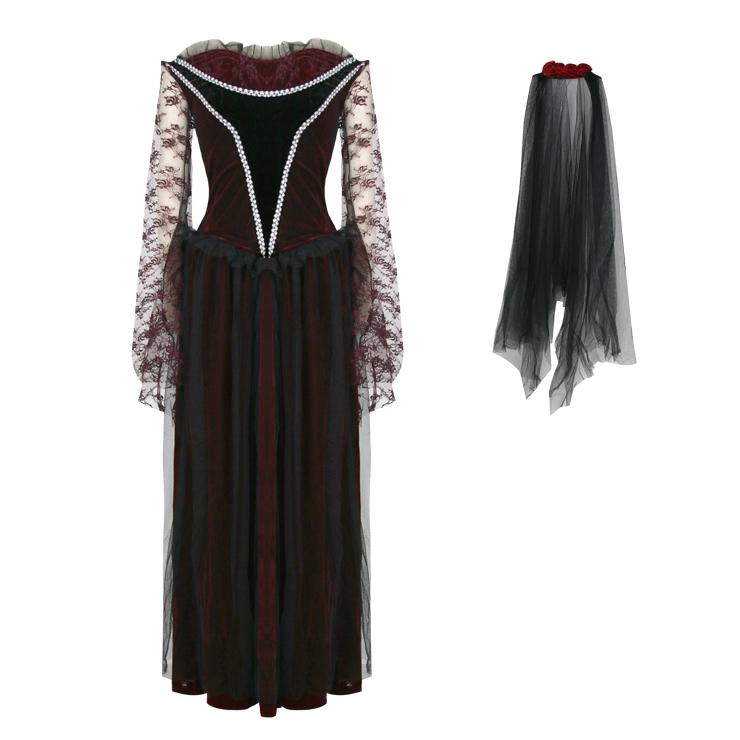 Hot Sale Halloween Costume, Cheap Scary Costume, Women