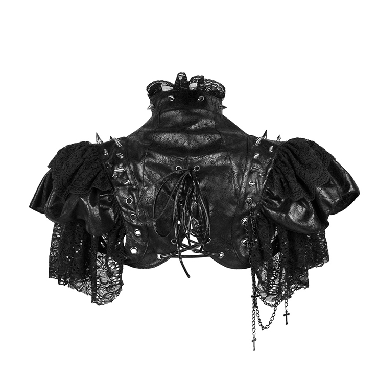 Gothic Vampire Shrug, Hot Selling Corset Shrug, Gothic Corset Shrug, Fashion Women