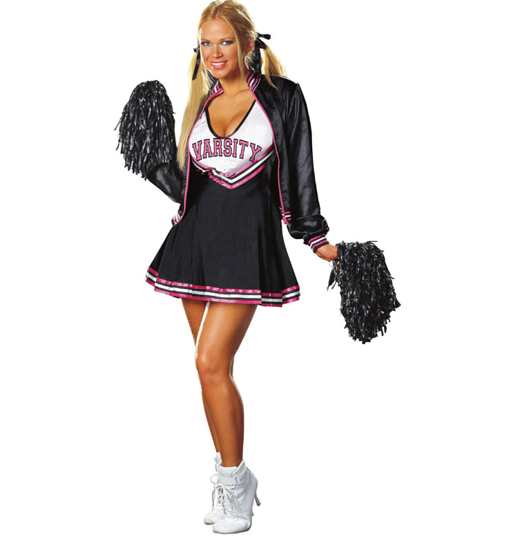 Varsity Cheerleader Costume Deluxe High School College Sports Cheerleader Costume Sports Cheerleader Costume  sc 1 st  MallTop1.com & Sexy Cheerleader Costumes Cheerleader OutfitsCheerleader Uniforms