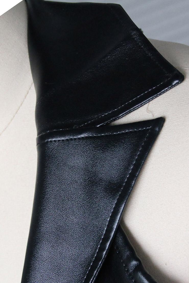 2pcs Vest Leather Corset, Vest Leather Corset Black, Leather Corset Black, Sexy Black Leather Corset, Steampunk Corset, Cheap Leather Corset, Steampunk Corset, #N4392