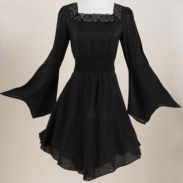 Gothic Renaissance Lace Tunic Dress N11852