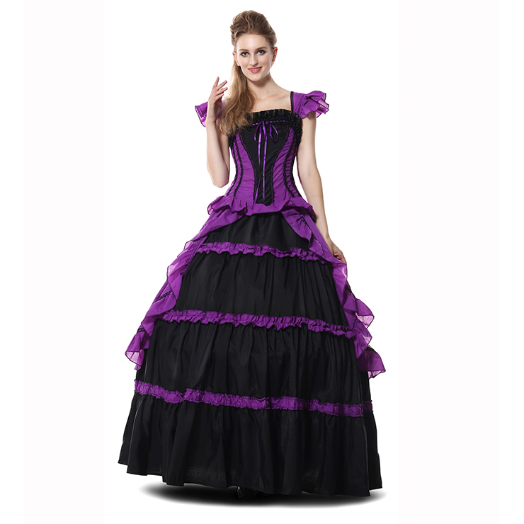 Victorian Gothic Period Prom Costumes N9305