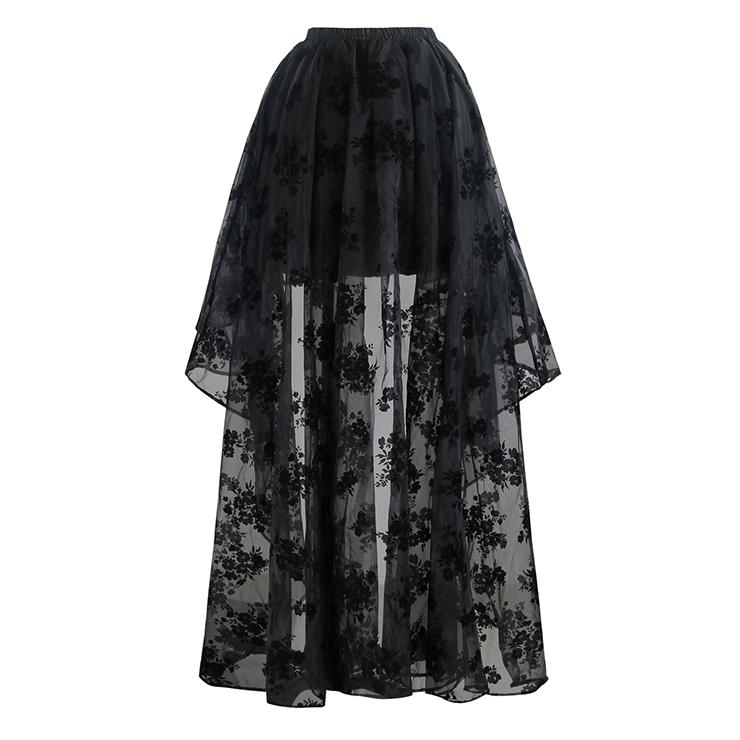 Sexy Crop Top and Skirt Set, Women