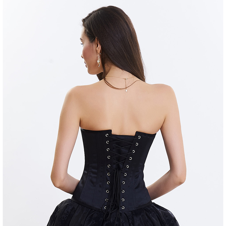 Outerwear Corset for Women, Fashion Body Shaper, Cheap Shapewear Corset, Womens Bustier Top, Steel Boned Corset, Victorian Overbust Corset, Sexy Overbust Corset, #N14699
