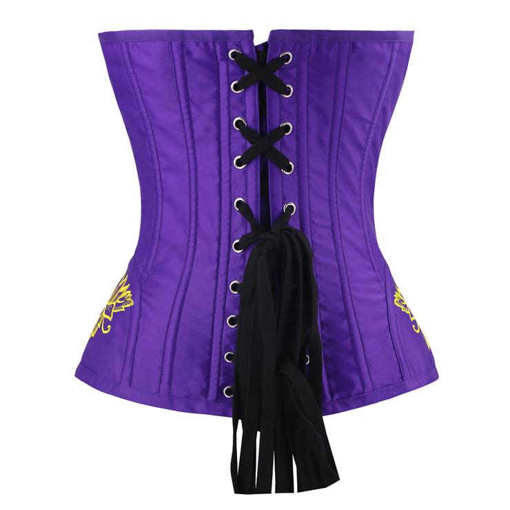 Outerwear Corset for Women, Fashion Body Shaper, Womens Bustier Top, Steel Boned Corset, Victorian Overbust Corset, Sexy Overbust Corset, #N14949
