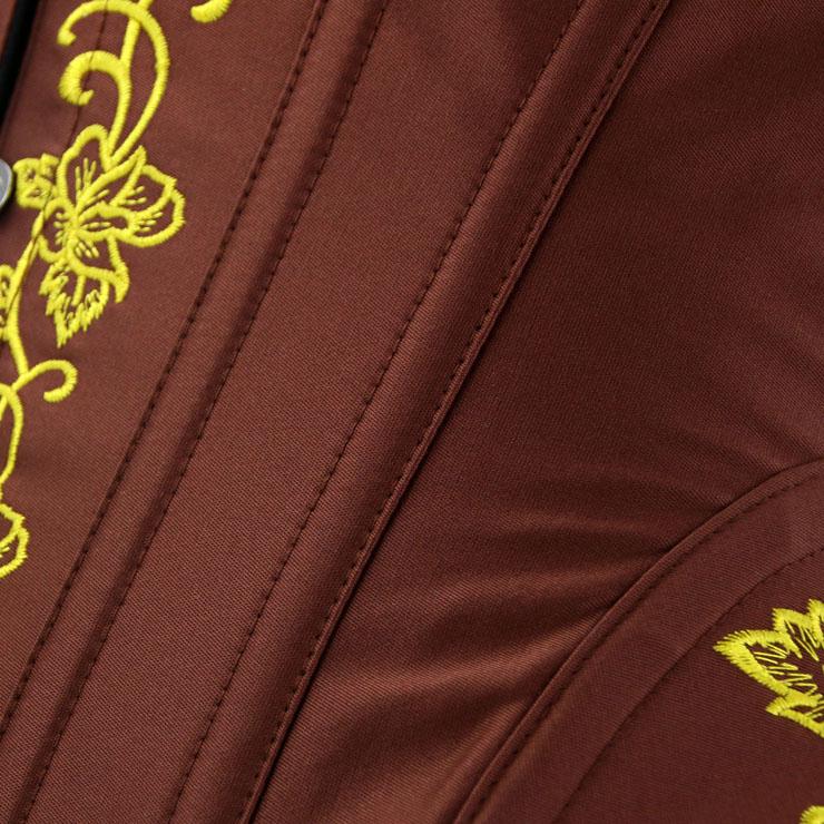 Outerwear Corset for Women, Fashion Body Shaper, Womens Bustier Top, Steel Boned Corset, Victorian Overbust Corset, Sexy Overbust Corset, #N14950
