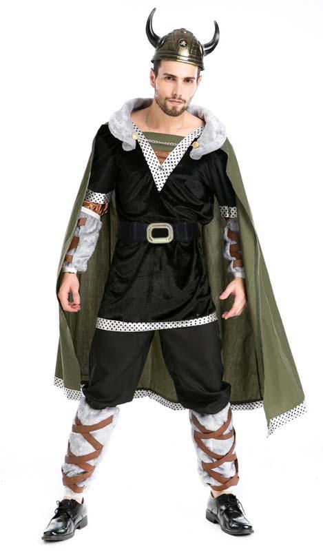 Super Deluxe Viking Warrior Costume, Viking Warrior Adult Costume, Viking Warrior Costume, #N4881