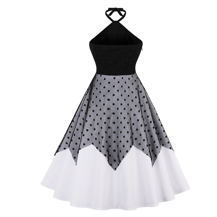 Retro Dresses for Women Black, Vintage Dresses 1950