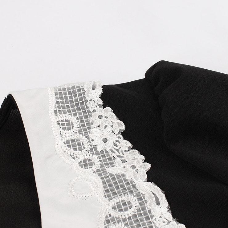 Cute Summer Swing Dress, Retro Pinstripe Dresses for Women 1960, Vintage Dresses 1950