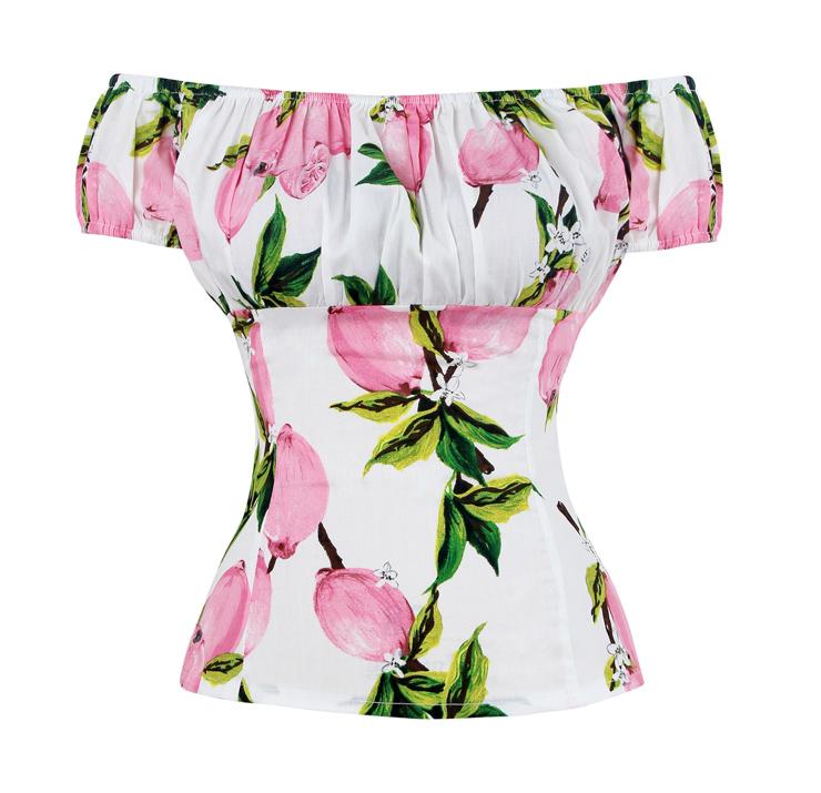 Vintage Off the Shoulder Cape Sleeve Scoop Neck T-shirt N13049