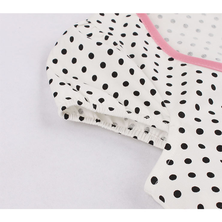 Cute Polka Dots Swing Dress, Retro Dresses for Women 1960, Vintage Dresses 1950
