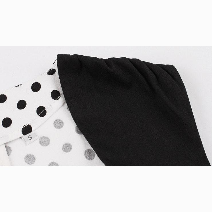 Sleeveless Dress, Sweetheart Neckline Dress, Plus Size Dress, Vintage Dress for Women, Midi Dress, Dot Print Dress, Elegant Dresses for Women, Back Zipper Dress, #N15505