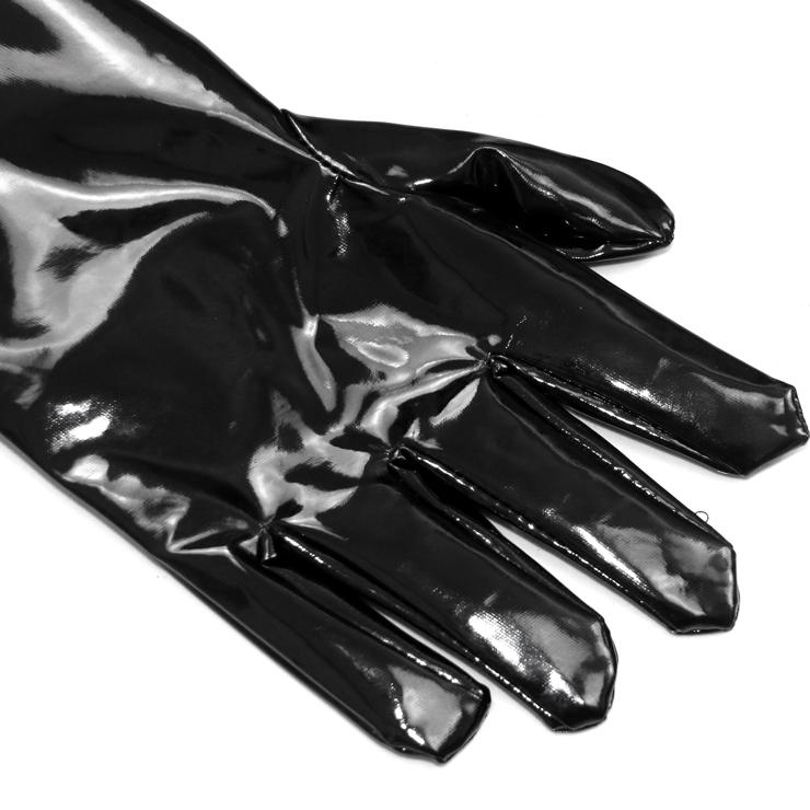 Vinyl Gloves, Sexy gloves, gloves wholesale, Length Gloves, #HG1912