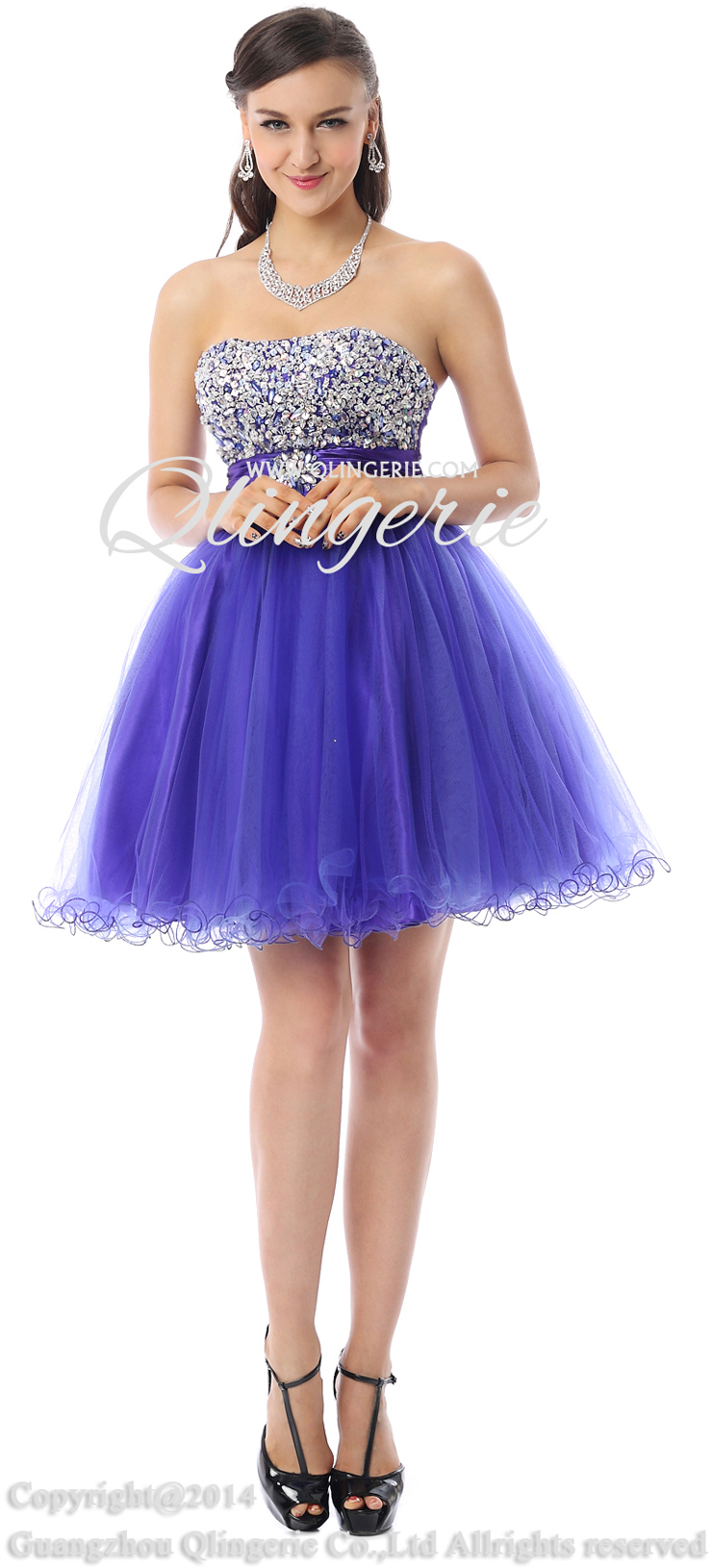 Fairy Violet A-line Mini Dress, Cheap Cocktail Dress, Girls Homecoming Dress on sale, Lovely Sweet 16 Dress, Prom Dress For Cheap, #Y30071