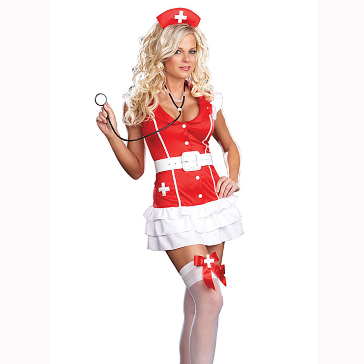 Nurse Costumes, Nurse Lingerie, Nurse Outfits, #M2383