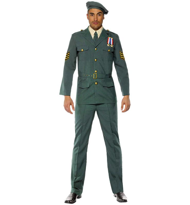 Wartime Officer Costume N7836
