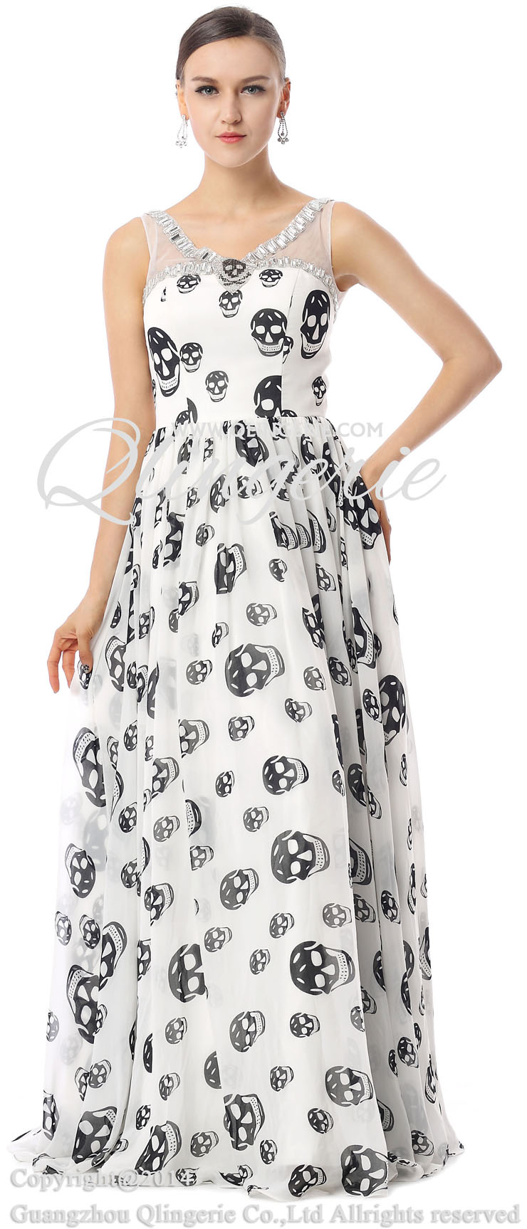 Fashion Party Dresses, Girls Dresses for cheap, Funny Prom Dress, Long Party Dresses, 2015 Dresses on sale,  Hot Sale Spring Dresses, #F30023