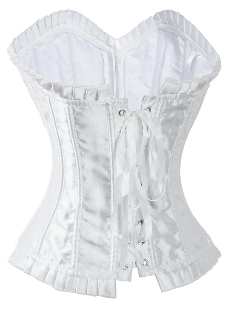 Sexy White Corset, Women