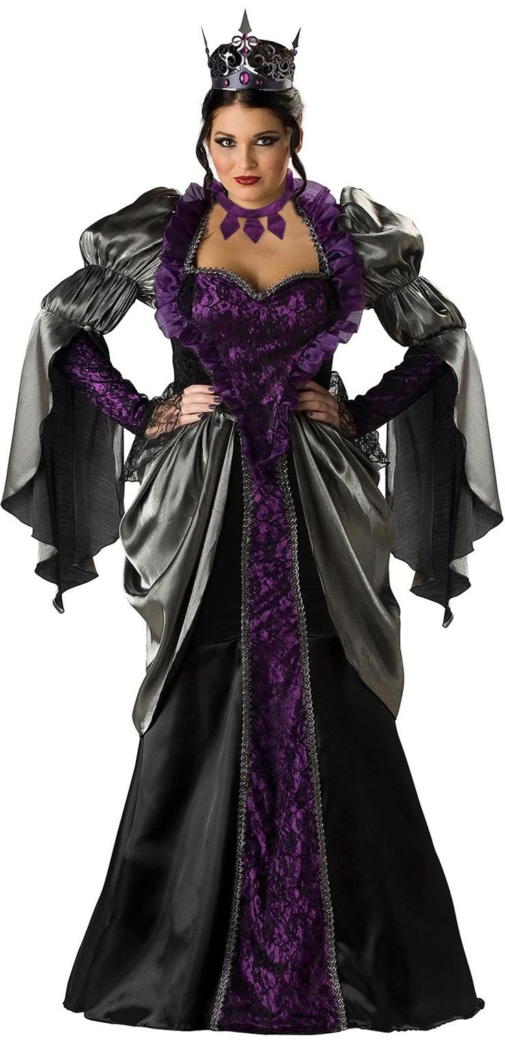 Wicked Queen Costume, Deluxe Wicked Queen Costume, Queen Costume, #N4784
