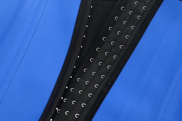 Latex Underbust Corset, Elastic Body Shaper Bustier, High Quality Blue Steel Bone Underbust Corset, Plus Size Corset, #N10242