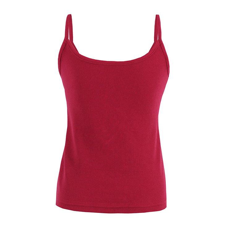 Vest for Women, Spaghetti Strap Vest, Backless Vest, Camisole Vest,  Casual Vest for Women, #N14304