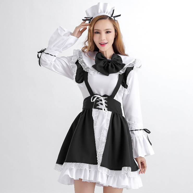 Women's Sexy French Maid Costume N12004