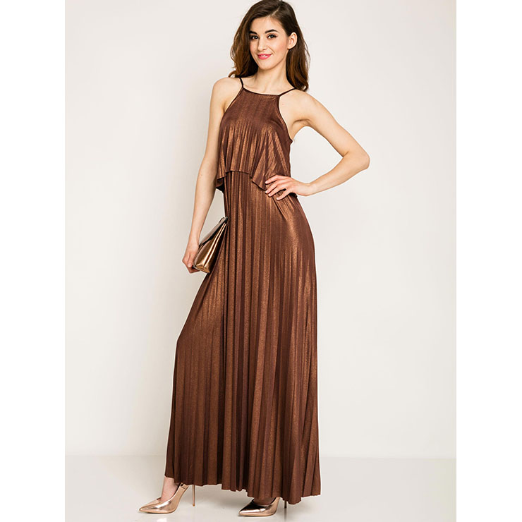 Sexy Dress for Women, Maxi Dresses, Sleeveless Dress for Women, Spaghetti Strap Dress, Party  Dress , Daily Dress, #N14261